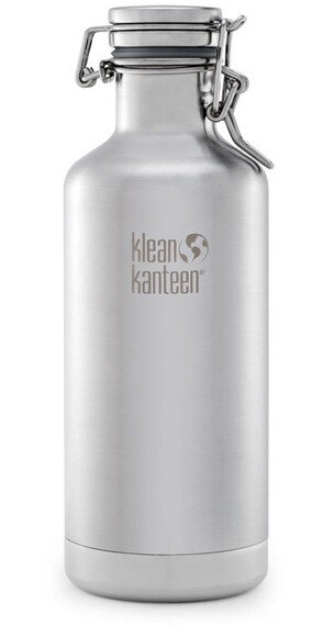 Klean Kanteen Growler Vacuum Insulated 32oz (946 ml) Brushed Stainless